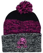 26c984f715f  47 Brand Cleveland Browns Static Cuff Pom Knit Hat