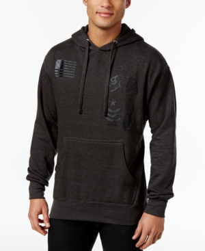 Ring of Fire Men's West Coast Patches Hoodie, Only at Macy's