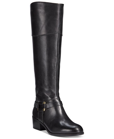 Alfani Womens Biliee Riding Boots Only At Macys