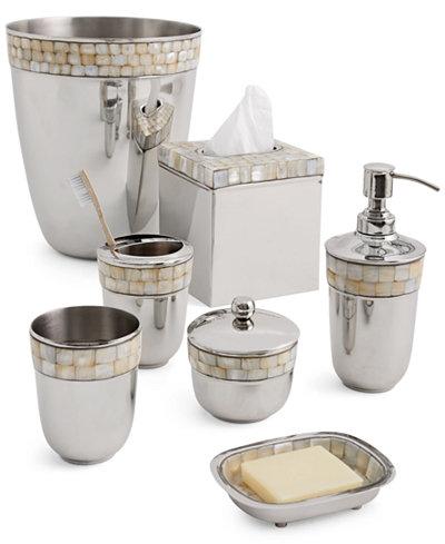 Paradigm Opal Shiny Bath Accessories Collection Bathroom