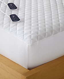 Micro Flannel® Full Heated Mattress Pad