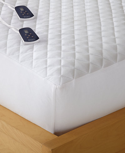 Shavel Micro Flannel Queen Heated Mattress Pad