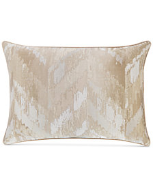 Hotel Collection Distressed Chevron Standard Sham, Created for Macy's