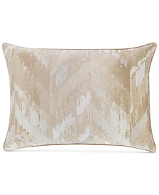 CLOSEOUT! Hotel Collection Distressed Chevron King Sham, Created for Macy's