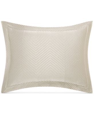 CLOSEOUT!  Woven Accent Quilted Standard Sham, Created for Macy's