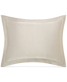 CLOSEOUT! Hotel Collection  Woven Accent Quilted Standard Sham, Created for Macy's