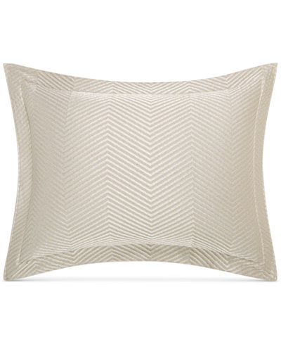 CLOSEOUT! Hotel Collection Woven Accent Quilted King Sham, Created for Macy's