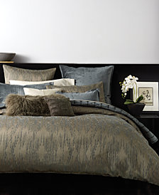 Donna Karan Exhale Taupe Bedding Collection