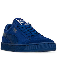 Puma Men's Suede Classic Mono Reptile Casual Sneakers from Finish Line