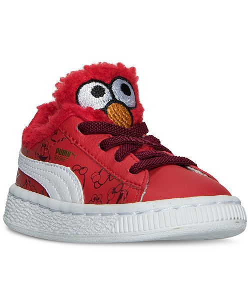 ... Puma Toddler Boys  Basket Sesame Street Casual Sneakers from Finish ... 70783913c