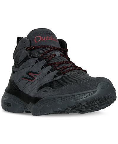 Skechers Men's GOwalk Outdoor Mid Walking Boots from Finish Line