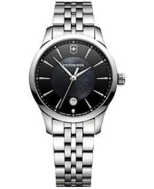 Women's Alliance Diamond Accent Stainless Steel Bracelet Watch 35mm 241751
