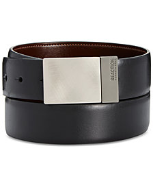 Kenneth Cole Reaction Men's Reversible Plaque Belt