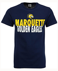 J America Men's Marquette Golden Eagles Verb Stack T-Shirt