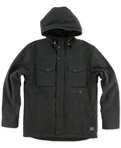 O'Neill Men's Anchorage Jacket with Faux-Fur Lining - Coats ...