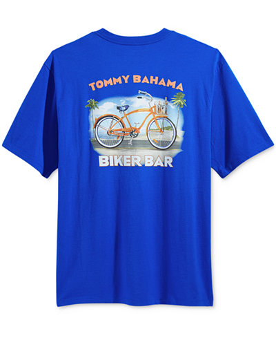 Tommy Bahama Men 39 S Enzyme Washed Graphic Print T Shirt T