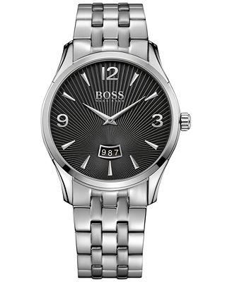 BOSS Hugo Boss Men's Commander Stainless Steel Bracelet Watch 41mm 1513429