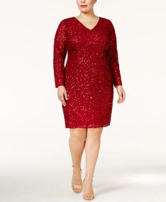 Long Sleeve Dresses - Macy's