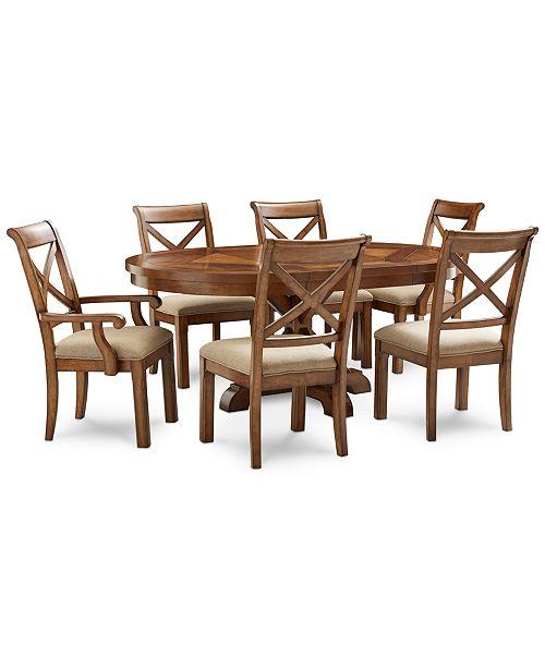 Furniture Mandara Round Dining Furniture Collection