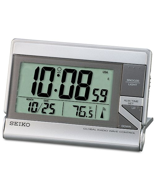 Seiko R Wave Bedside Alarm Clock Be The First To Write A Review Main Image