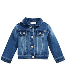 Baby Girls Denim Jacket, Created for Macy's
