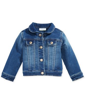 First Impressions Baby Girls Denim Jacket Created For Macy S