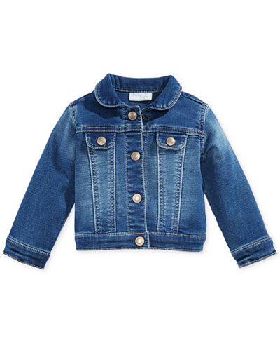 First Impressions Denim Jacket, Baby Girls, Created for Macy's ...