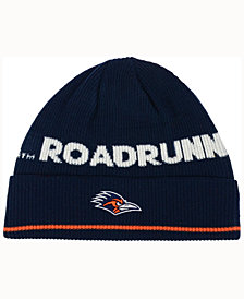 adidas University of Texas San Antonio Roadrunners Coach Cuffed Knit Hat