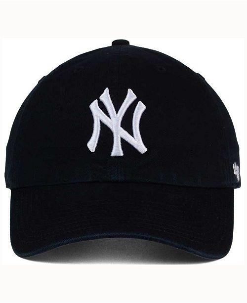 e8a5213312c 47 Brand New York Yankees Black White CLEAN UP Cap   Reviews ...