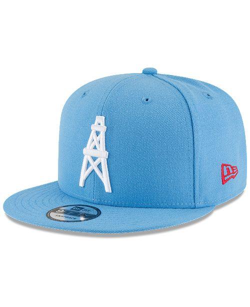 New Era Houston Oilers Historic Vintage 9FIFTY Snapback Cap - Sports ... cfbc53ece