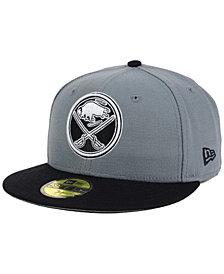 New Era Buffalo Sabres Gray Black 59FIFTY Cap