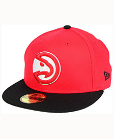 New Era Atlanta Hawks 2 Tone Team 59FIFTY Cap