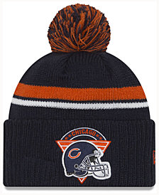 New Era Chicago Bears Diamond Stacker Knit Hat