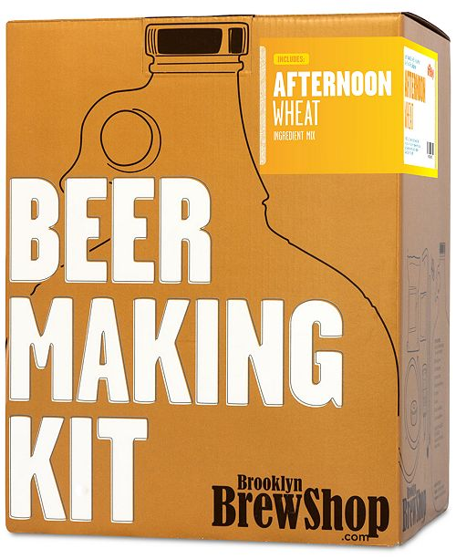 Brooklyn Brew Shop DIY Afternoon Wheat Beer Making Kit