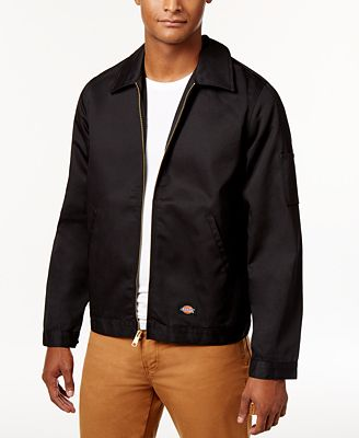 Dickies Men's Lightweight Twill Work Jacket - Coats & Jackets ...