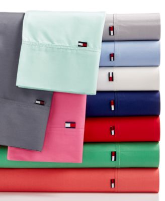 tommy hilfiger solid core sheet sets more colors available