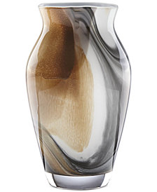 "Lenox Seaview Sand 9"" Tulip Vase"