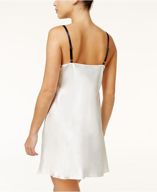 Macy's Created Washed Bridal Lace for Sodi And White Satin Thalia Chemise zwqxU8CxY