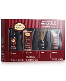 The Men's Sandalwood Mid-Size Kit