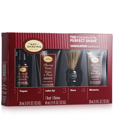 The art of shaving starter kit offers the 4 elements of the perfect shave in an introductory size. Benefits Allows clients to enjoy our core products in smaller sizes in order to upgrade their shaving experience/5(74).
