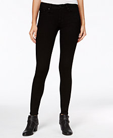 American Rag Juniors' Black Wash Super-Skinny Jeans, Created for Macy's