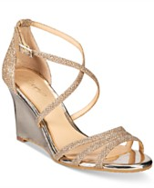 a66c5bc21fa Jewel Badgley Mischka Hunt Evening Wedge Sandals