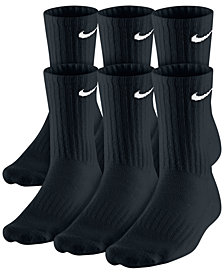Nike Men's Cotton Crew Socks, 6-Pack