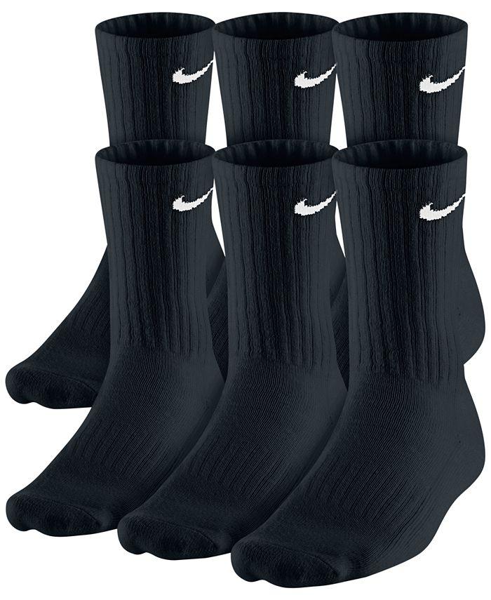Nike - Men's Cotton Crew Socks 6-Pack