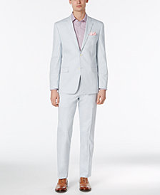 Lauren Ralph Lauren Men's Solid Light Blue Slim-Fit Suit