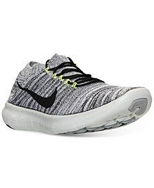 Nike Women's Free Run Motion Flyknit Running Sneakers from Finish Line