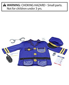 Melissa & Doug Kids Toy, Police Officer Role Play Costume Set