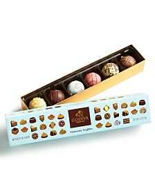Godiva 6-Pc Patisserie Truffles Gift Box