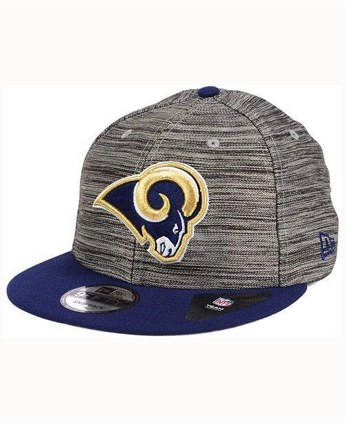 New Era Los Angeles Rams Blurred Trick 9FIFTY Snapback Cap - Sports ... b33944f217ed
