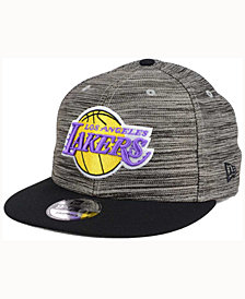 New Era Los Angeles Lakers Blurred Trick 9FIFTY Snapback Cap